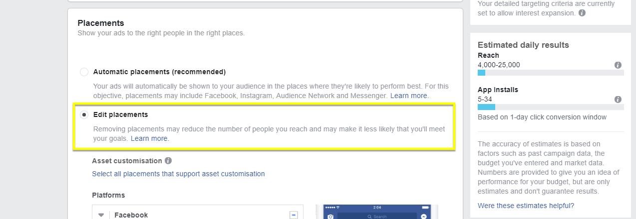 Facebook App Install Ads